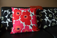 "Beautiful Marimekko Unikko 20"" x 20"" Cushion Covers / Pillow Covers"