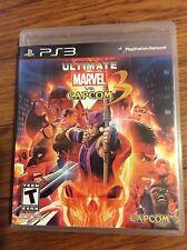 Ultimate Marvel vs. Capcom 3 (PS3, Complete!)