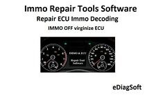 Immo Repair Tools Software to Repair ECU Immo Decoding IMMO OFF virginize ECU