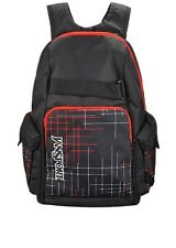 New Jansport Scraper Black High Risk Red Glare Backpack Bag