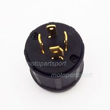 4 Prong Generator Locking Plug 20A 125/250V L14-20P UL Approval
