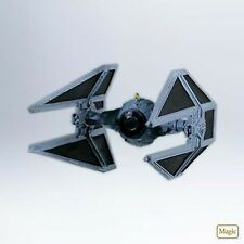 2012 Hallmark TIE INTERCEPTOR Magic Ornament STAR WARS *Priority Ship
