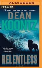 Relentless by Dean Koontz (2016, MP3 CD, Unabridged)