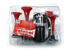 STEBEL ORIGINAL ITALIAN MADE 3 PIPE AIR HORN FOR ALL BIKES AND CARS