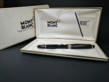 MONT BLANC Meisterstuck 144 Fountain Pen 14K Solid Nib W Germany Orig Sticker