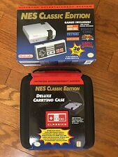 Nintendo NES Classic Edition Mini MODDED with 680 games & CARRY CASE BUNDLE!!!