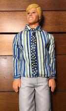Vintage Malibu Ken Doll Mattel 1968 Body 1983 Head *** Cool retro outfit ***
