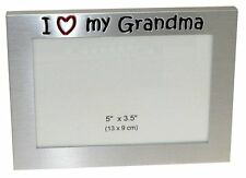 I Love My Grandma Photo Picture Frame Gift 5 x 3.5