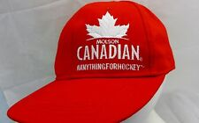 Molson  Canadian lager beer cap hat adjustable snapback  # Anything for Hockey !