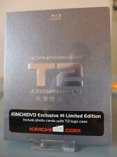 Bluray steelbook T2 Terminator 2 Kimchidvd Exclusive New&Sealed Neuf sans VF