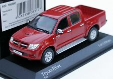 Minichamps Toyota Hilux Double Cab - Modell Bj. 2005-2008, M. 1:43, rot