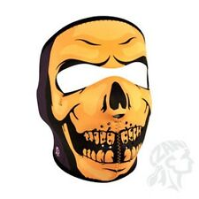 reaper skull full neoprene face mask Zan Headgear WNFM085 ATV snowmobile biker