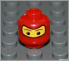 Lego Spirderman x1 Red Head Face City Mask Soldier Balaclava Minifigure NEW