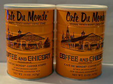 2 Can Café Du Monde Coffee and Chicory Total 30 oz- US Seller Fast shipping