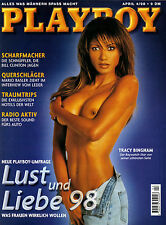 Playboy 04/1998    Baywatch-Star TRACY BINGHAM   April/1998