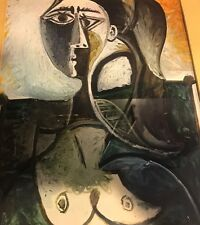 Picasso Lithograph Signed Nude Abstract Framed ~ Amazing✨Nice✨