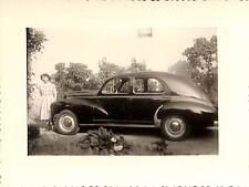 PHOTO AUTOMOBILE CAR PEUGEOT 203 1958