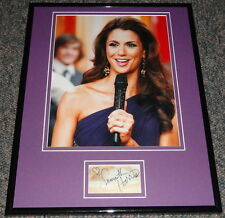Samantha Harris Signed Framed 11x14 Photo Display Dancing With the Stars