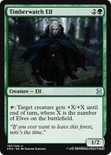 TIMBERWATCH ELF Eternal Masters MTG Green Creature — Elf Unc