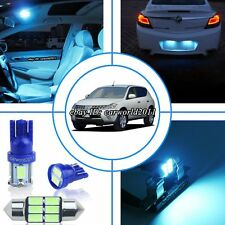 13x Aqua Ice Blue LED Interior Dome Light Package Kit For Nissan Murano 2003-07