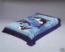 Original Solaron Korean Blanket Thick Mink Plush Queen size Dolphin