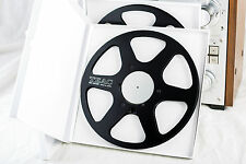 "New! Pair of TEAC RE-1003B (Black) Aluminum Metal 10.5"" Inch Take-Up Reels"