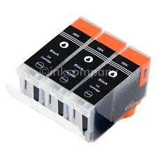 3 für CANON Patronen mit Chip PGI5 bk IP3300 IP3500 IP4200 IP4500 IP5200R MP970