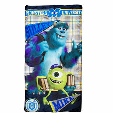Slumber Sleeping Bag + Backpack Disney Monsters University Mike Sully Age 3+ NEW