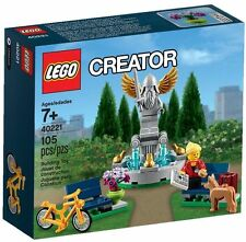 LEGO Creator Fountain 40221 Exclusive Promo,  NIB + Free Legoland flyer