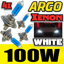 4X H7 100W 8500K XENON HID WHITE EFFECT LOOK HEADLIGHT LAMPS LIGHT BULBS 12V