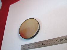 VINTAGE MICROSCOPE MIRROR AS IS VERY OLD ONE SIDE IS FINE OPTICS BIN#8X-19