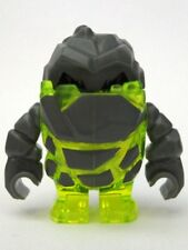 LEGO Power Miners - Rock Monster - Sulfurix (Trans-Neon Green) Mini Figure
