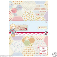 Papermania A5 paper 32 sheet pack 160gsm Tilly Daydream hearts love valentine