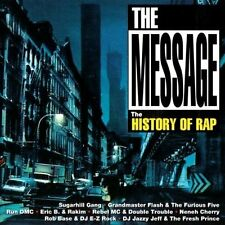 Message-The History of Rap (1994) 1:Grandmaster Flash, Run Dmc, Erik B./R.. [CD]