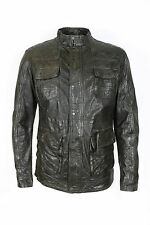 Pearly King - Resolute Brown Leather Jacket - Size XXL *NEW WITH TAGS* RRP£335
