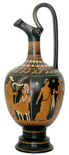 Oinochoe Vase Ancient Greek Museum Replica Reproduction