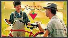 Canada Stamps -Pane of 12 in Cover -Canadian Tire - 75th Anniversary #1636 -MNH