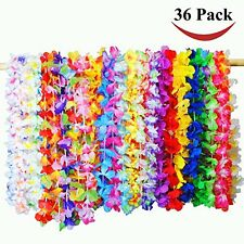 Joyin Toy 36 Counts Tropical Hawaiian Luau Flower Lei Party Favors Moana Aloha