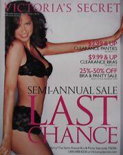 Supermodel ADRIANA LIMA Spring Sale 2004 Victoria's Secret Catalog