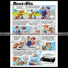 KODAK Pocket INSTAMATIC & BOULE & BILL par ROBA 1977 Pub / Publicité / Ad #A494