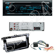 Kenwood KDC300UV CD/USB Radio VW Scirocco Sharan II Tiguan + Blende ISO Adapter