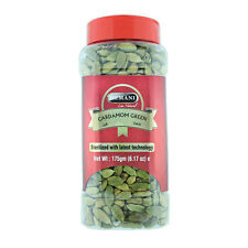 Hemani Natural Green Cardamom Whole Pods (Jar) GRADE A BEST QUALITY 175gm (F/S)