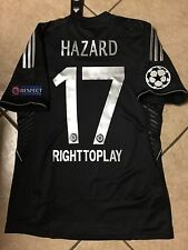 ENGLAND CHELSEA HAZARD PLAYER ISSUE FORMOTION RARE SHIRT 6.7.8.10FOOTBALL JERSEY