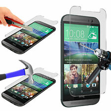 100% Tough Tempered Glass Film Screen Protector for HTC One M8s