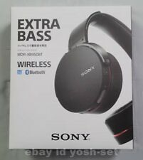 SONY MDR-XB950BT/B Extra Bass Bluetooth Stereo Headset Black From Japan