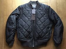 LOUIS VUITTON QUILTED BOMBER JACKET SIZE 54 RUNWAY RARE! RRP £2200 NEW AUTHENTIC