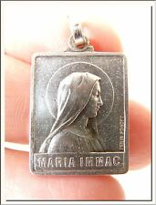 ANTIQUE 1908's 50th ANNIVERSARY OL NOTRE DAME LOURDES FRENCH MEDAL by PENIN !!!