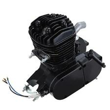 "Black 80cc 2-stroke Engine for 26""28"" Motorized Bicycle Bike Cruisers Low Noise"