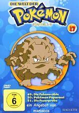 DIE WELT DER POKEMON 17 | 1. Staffel / 49-51 |  DVD #ZZ | Pokémon