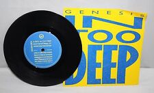 "7"" Single - Genesis - In Too Deep - Virgin GENS 2 - 1986"